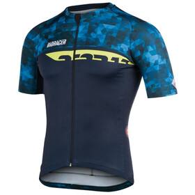 Bioracer Spitfire Camo Bike Jersey Shortsleeve Men blue
